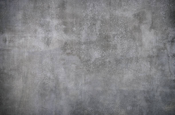 High Resolution Photograph Of A Grey Concrete Wall Stock Photo