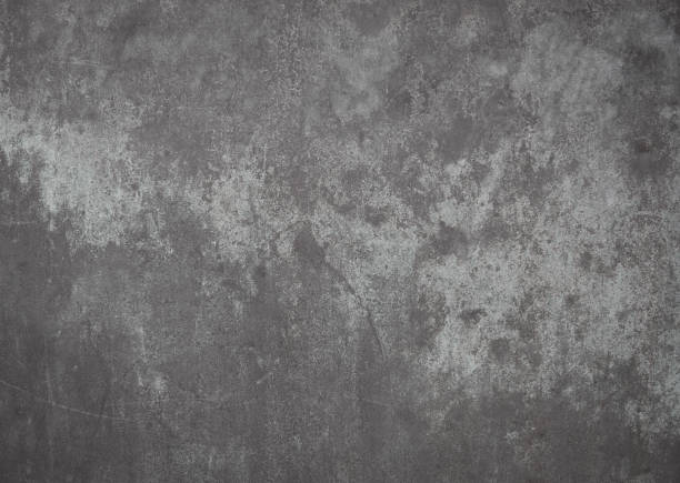 High resolution photograph of a weathered steel surface Steel surface in bad conditions, gray metal background. metal stock pictures, royalty-free photos & images