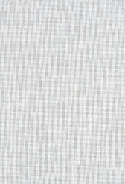 Hochauflösendes Foto eines weißen Leinenbuch-Covers – Foto