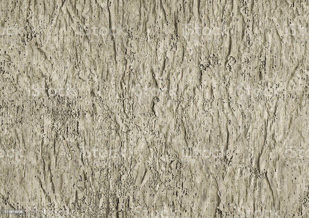 High Resolution Primed Jute Canvas Crumpled Coarse Grunge Texture royalty-free stock photo