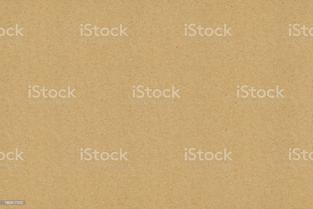 High Resolution Recycled Cardboard stock photo