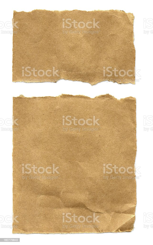 High Resolution Recycled Paper royalty-free stock photo
