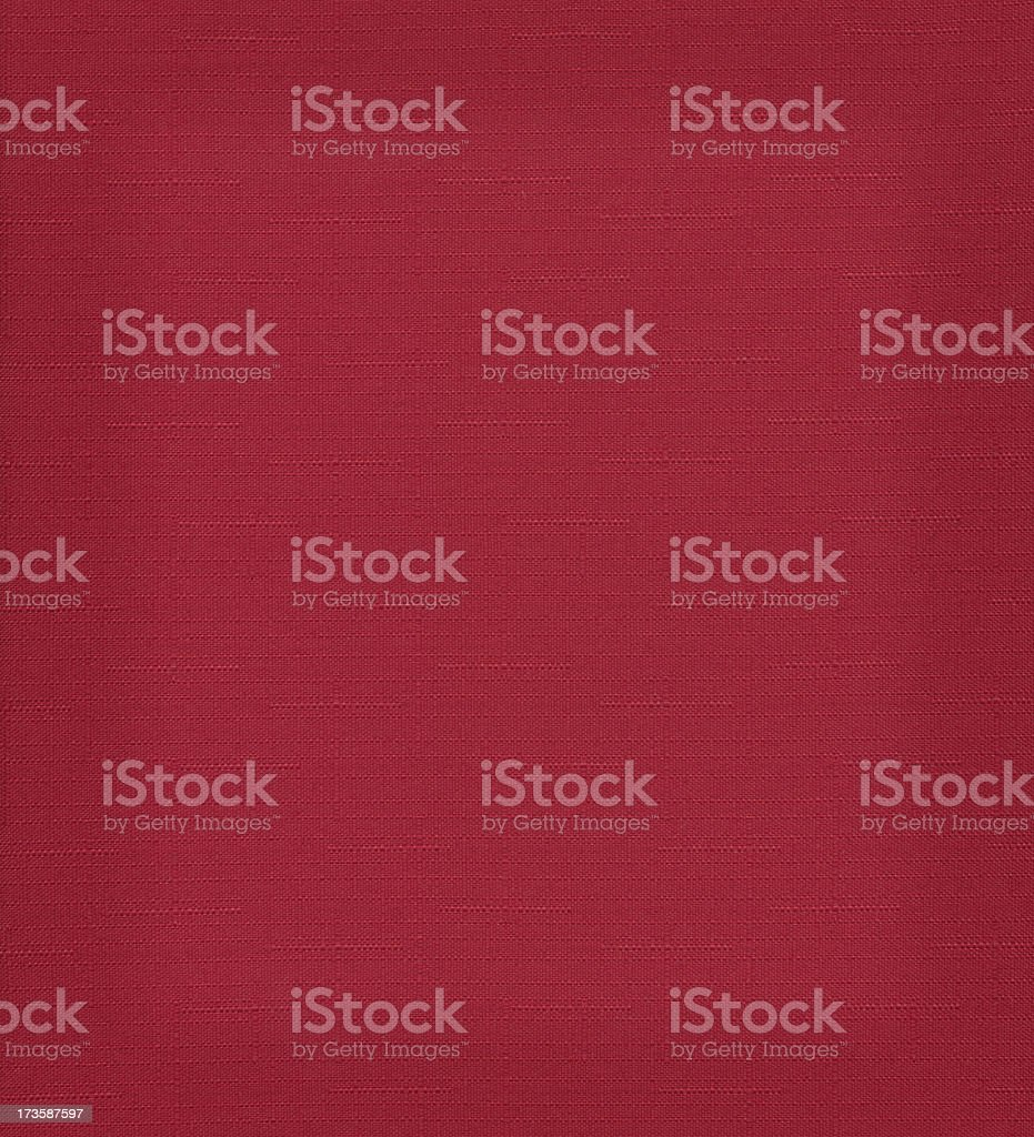 High resolution red fabric texture royalty-free stock photo
