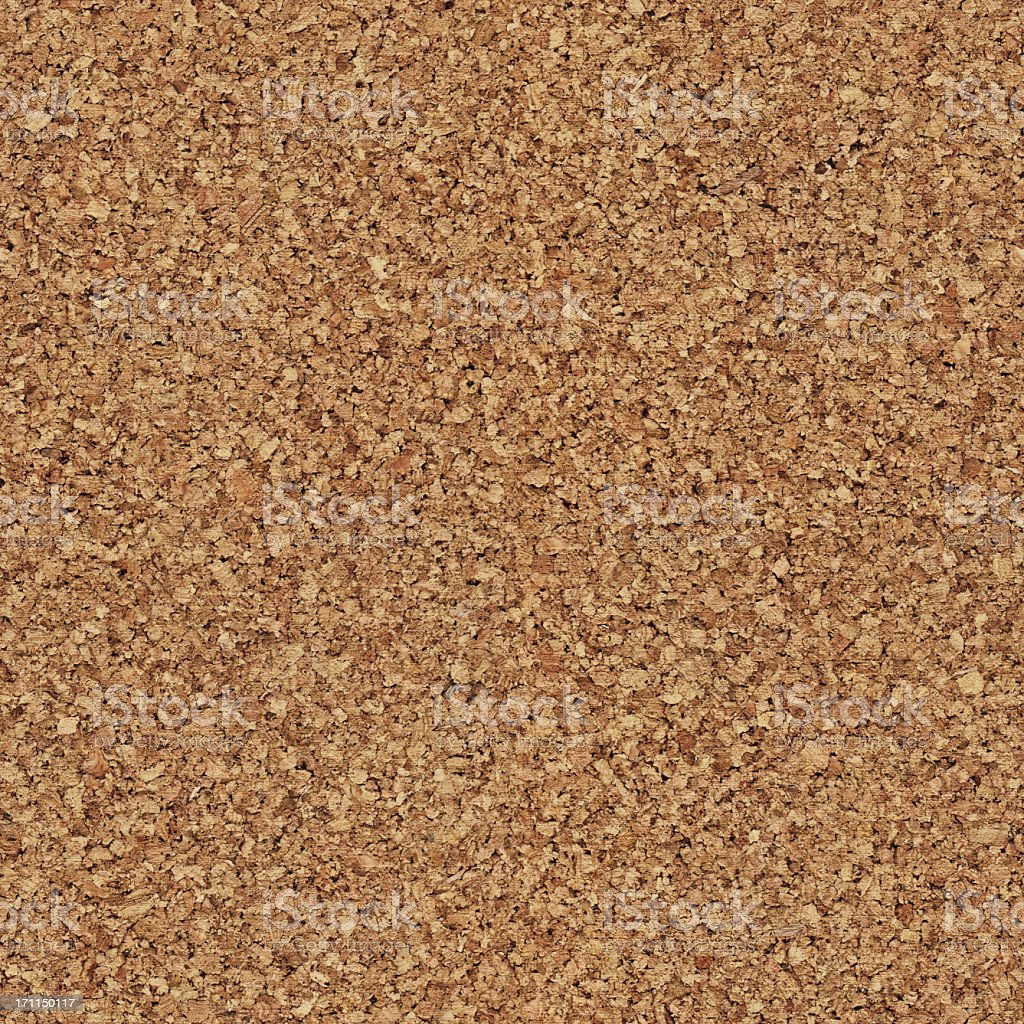 High Resolution Seamless Natural Brown Cork Texture Wall Pattern Tile royalty-free stock photo