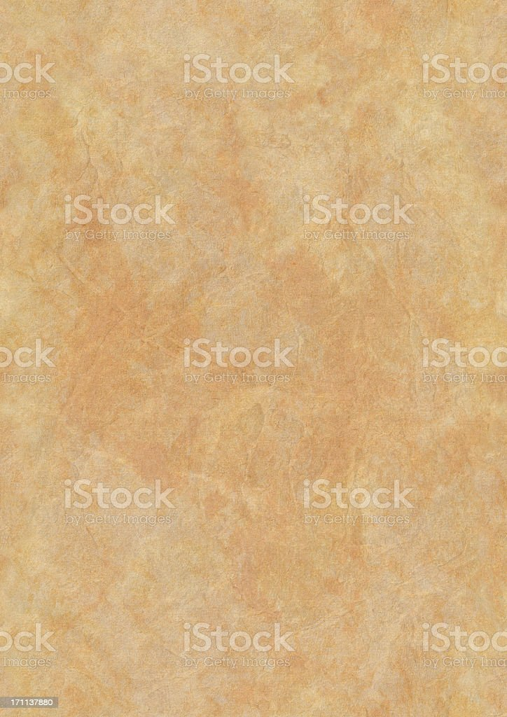 High Resolution Seamless Parchment (Vellum) Grunge Texture royalty-free stock photo
