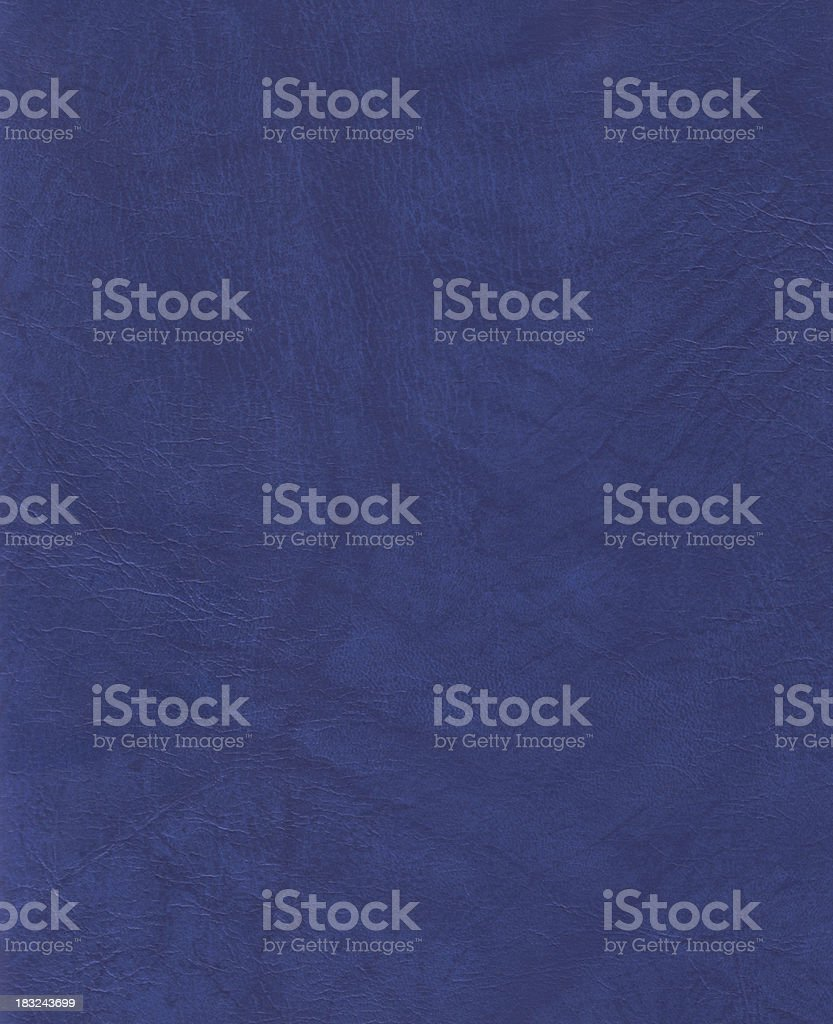 High resolution texture pattern background - blue leather imitation royalty-free stock photo