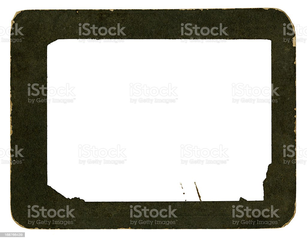 High Resolution Vintage Photograph Frame stock photo