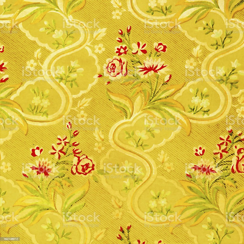 High Resolution Vintage Wallpaper Stock Photo Download Image Now