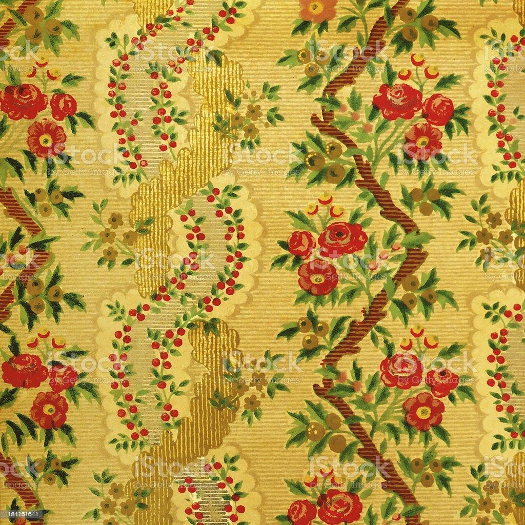 Haute Resolution De Papier Peint Vintage Avec Des Fleurs Photos Et