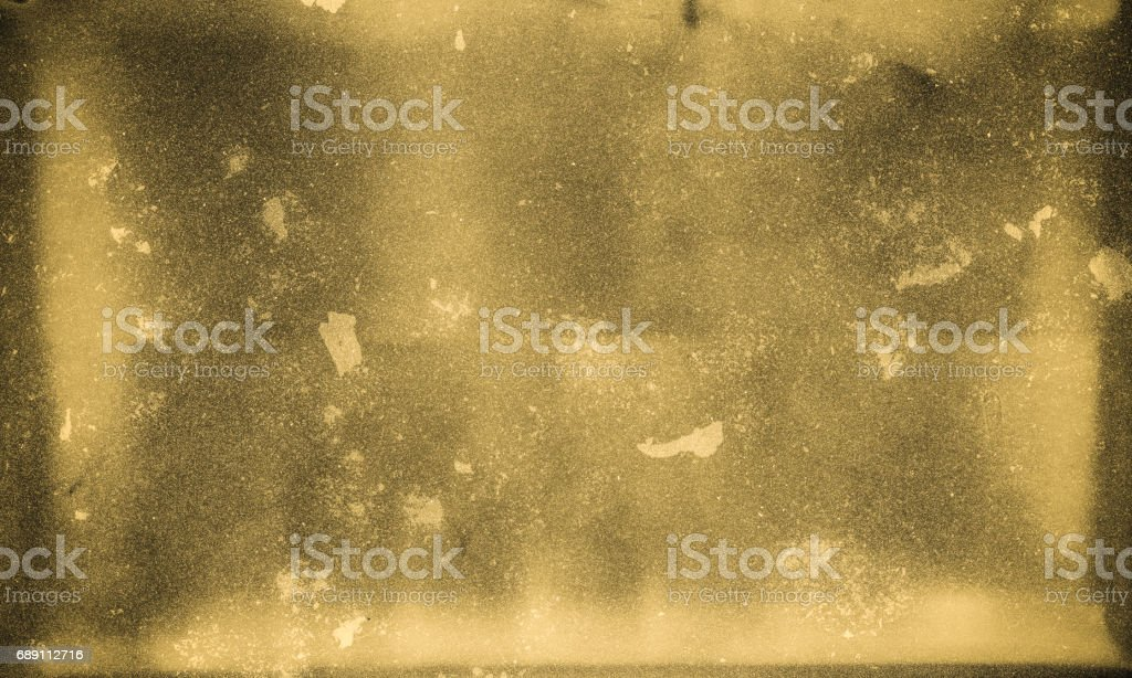 High Resolution Wet Plate Emulation Background Design element, old collodion plate emulation. Aging Process Stock Photo