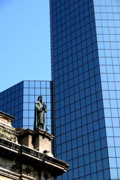 Hochhaus Stadtbild in Santiago De Chile – Foto