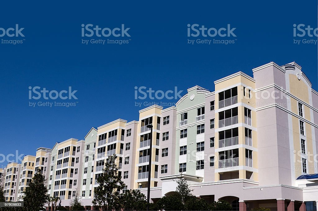 High Rise Condos royalty-free stock photo