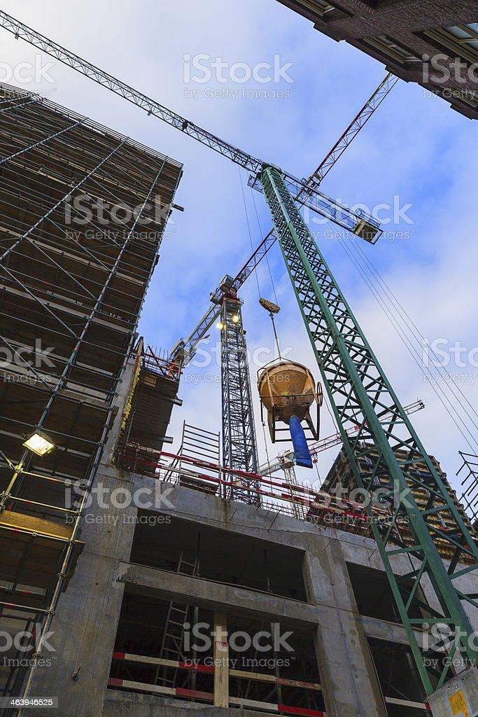 High rise construction foto