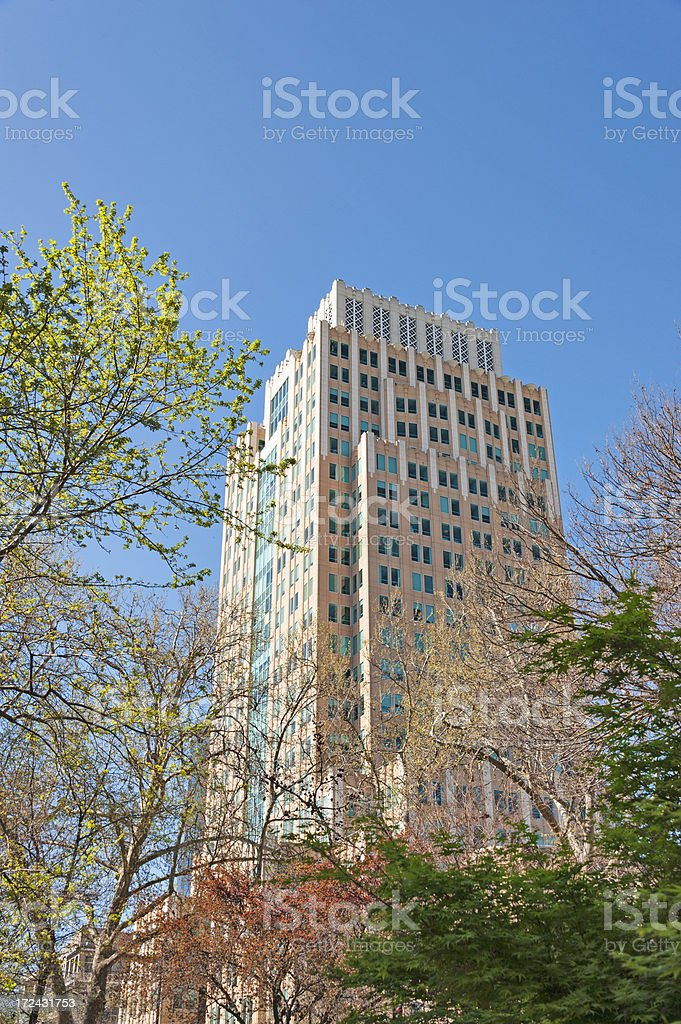 High Rise downtown royalty-free stock photo