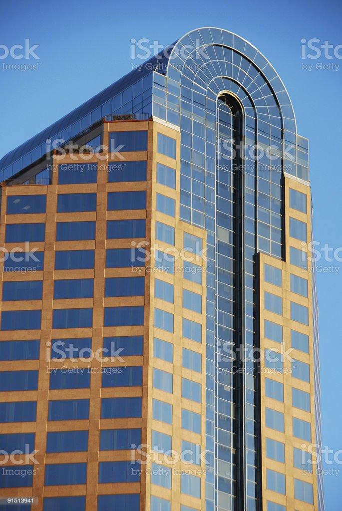 High rise of Wachovia Bank stock photo