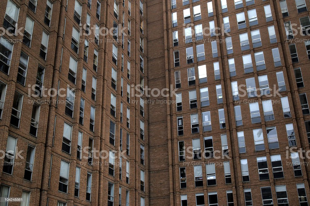 High rise office building. stock photo