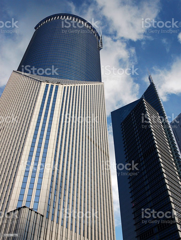 High Rise Office Building royalty-free stock photo