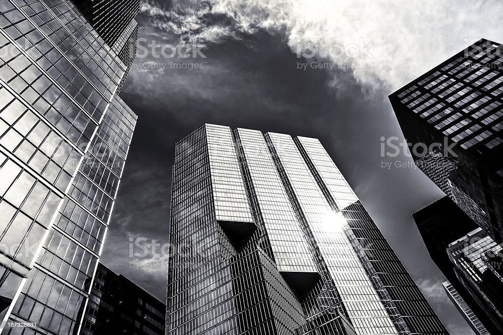 High rise office buildings at Toronto,Canada stock photo