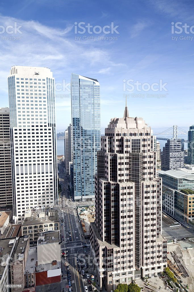 High Rise Office royalty-free stock photo