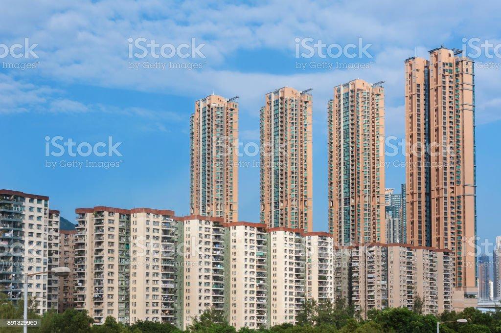 Hohe Leibhöhe Wohngebäude – Foto