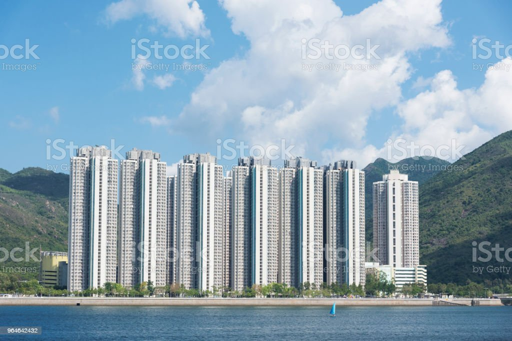 high rise residential building royalty-free stock photo