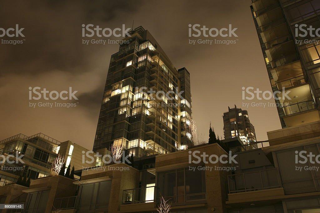 Alto residenziale di foto stock royalty-free