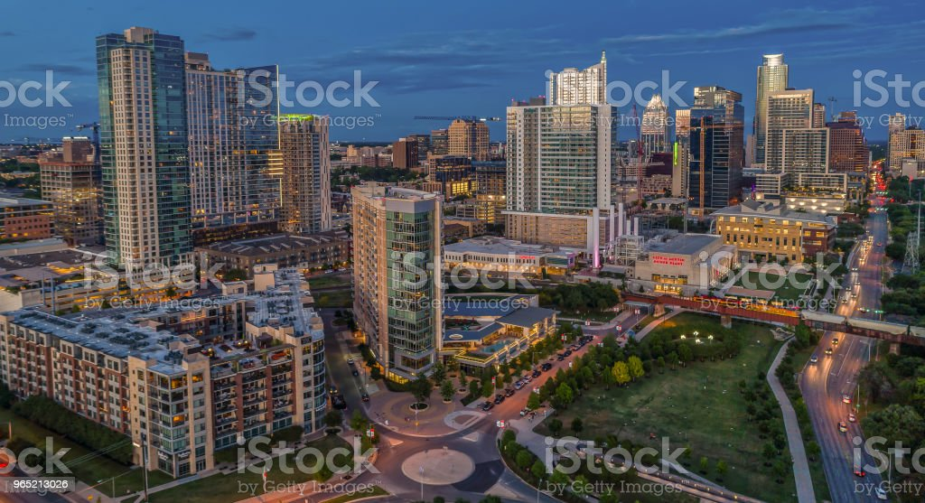 High Rise Towers in Austin, Texas royalty-free stock photo
