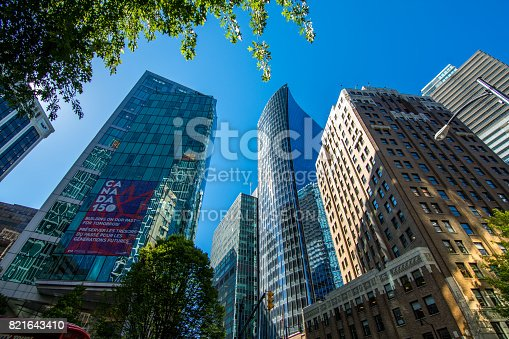 istock High rises in Vancouver's downtown on a sunny day 821643410