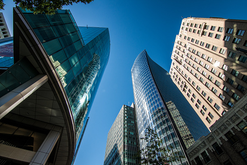 istock High rises in Vancouver's downtown on a sunny day 821643524