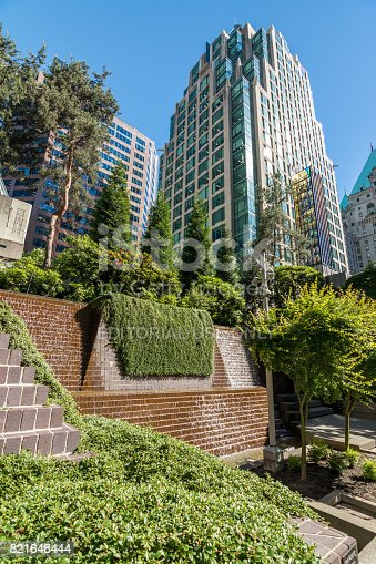 istock High rises in Vancouver's downtown on a sunny day 821648444