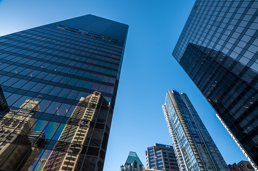 istock High rises in Vancouver's downtown on a sunny day 821648558