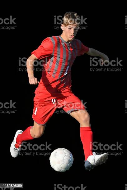 High school boy athlete making amazing plays during a soccer game picture id1132826059?b=1&k=6&m=1132826059&s=612x612&h=swn cwqnzvpqeuxzthvcegdmhwdezqikywieztsl jw=
