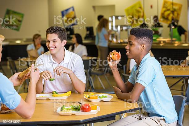 High school boys eating lunch together in cafeteria lunchroom picture id504031327?b=1&k=6&m=504031327&s=612x612&h=llvpt8dg2n8z92 erhqm99zde6hpywa4caewolpwqfi=