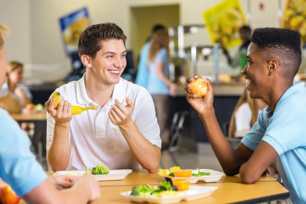 High school boys laughing together while eating lunch in cafeteria picture id504569493?b=1&k=6&m=504569493&s=612x612&w=0&h=wukgjf5i7ddx1jv9n2vhrwi3ffb0n3k3n czaw7 hhw=