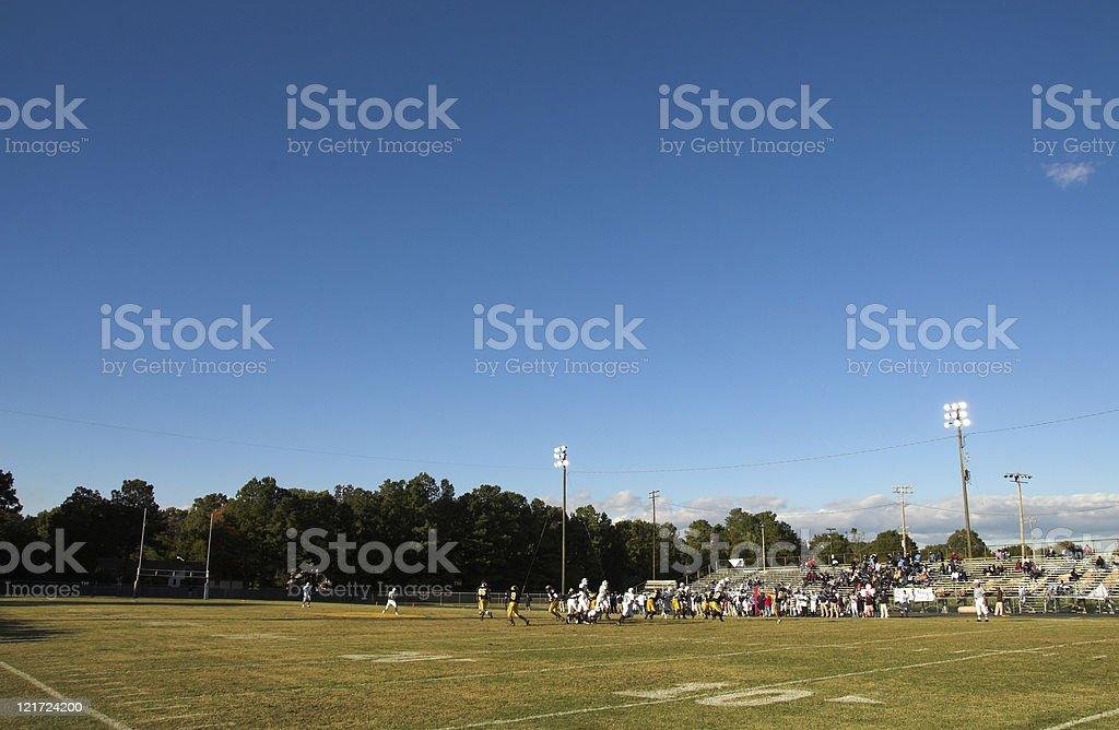 High School Football royalty-free stock photo