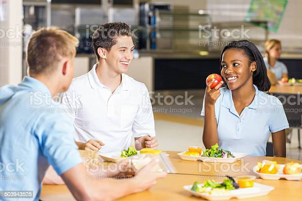 High school girl talking with friends eating healthy cafeteria lunch picture id503943525?b=1&k=6&m=503943525&s=612x612&h=b5zyw7 gu2dfamryn8n59p11w 3a5i5yjdivaqfuxae=