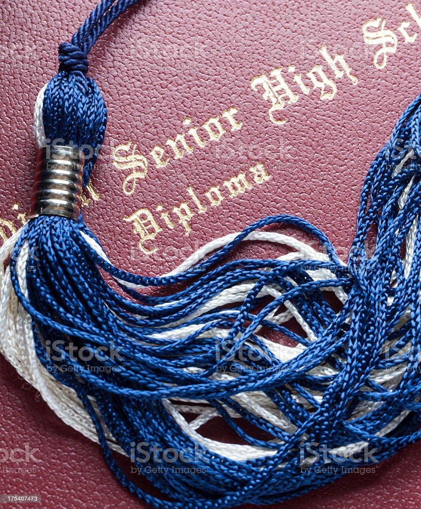 High School Graduation royalty-free stock photo