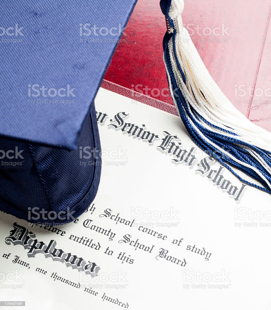High School Graduation royalty-free stock photo
