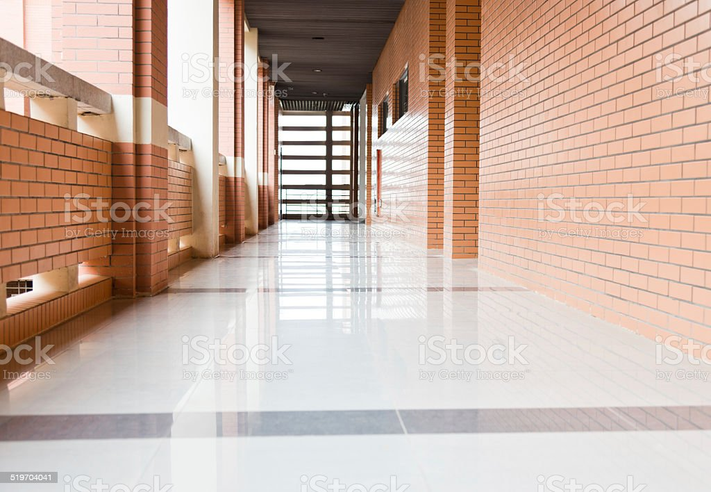 high school-Flur – Foto