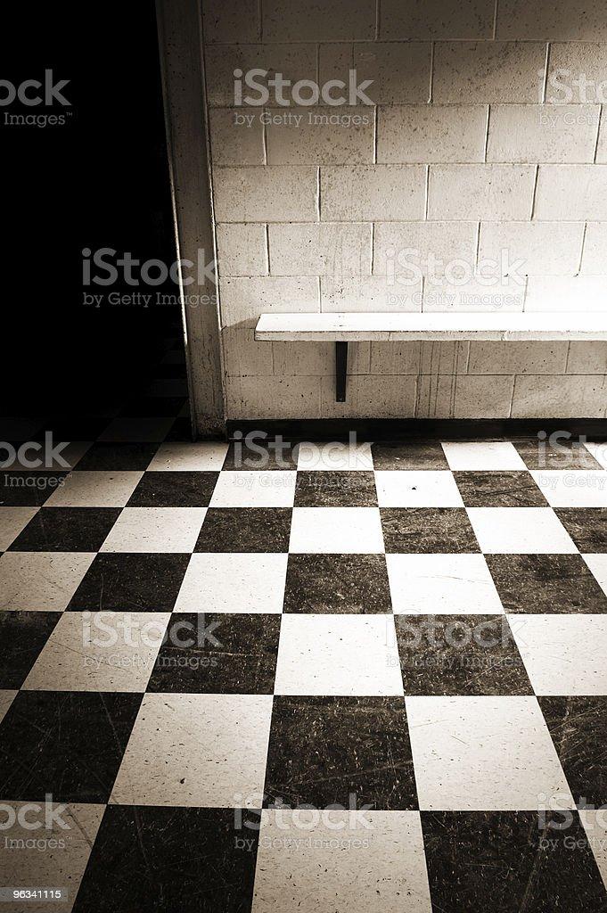 High School Hallways royalty-free stock photo