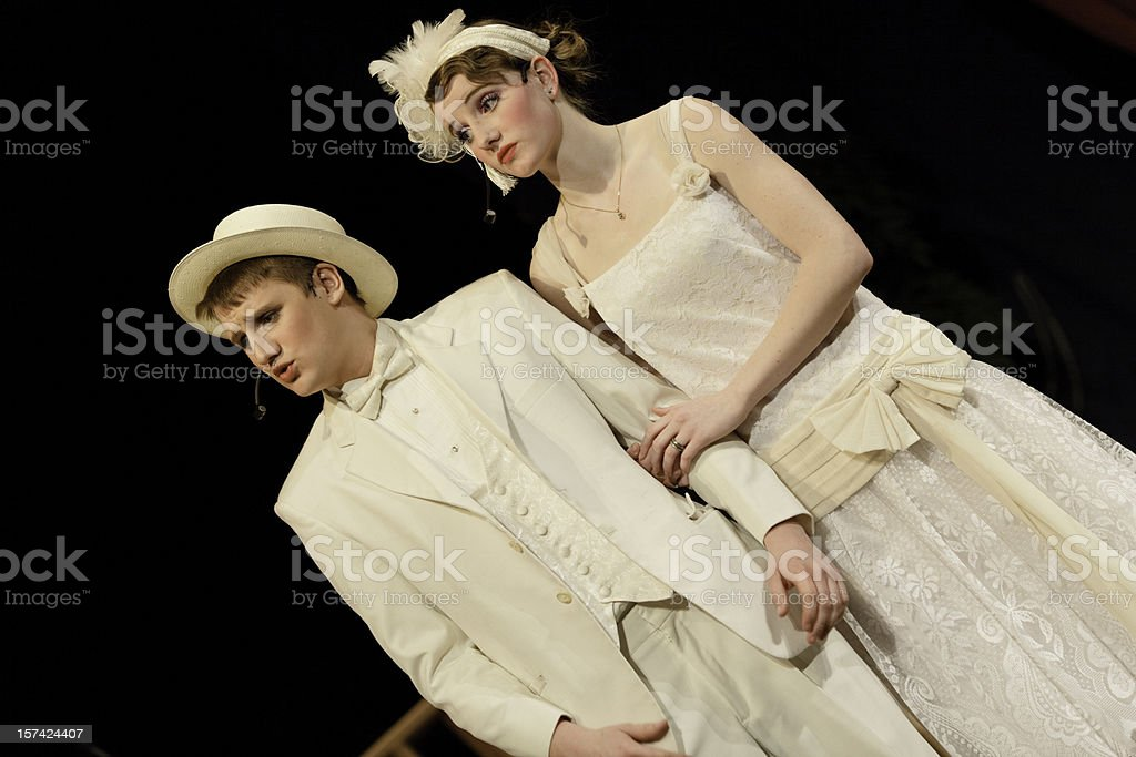 High School Musical Drama stock photo