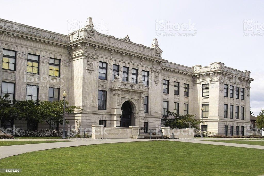 High School royalty-free stock photo