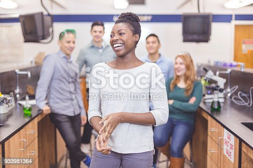 129300487 istock photo High School Science Lab Experiments 933981364