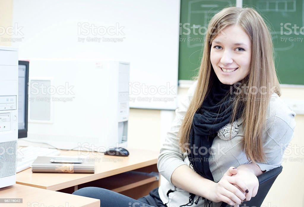 High school student royalty-free stock photo