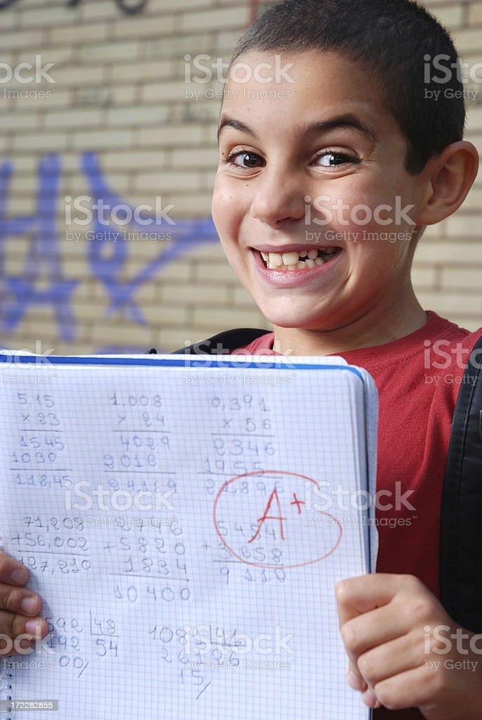 High score stock photo