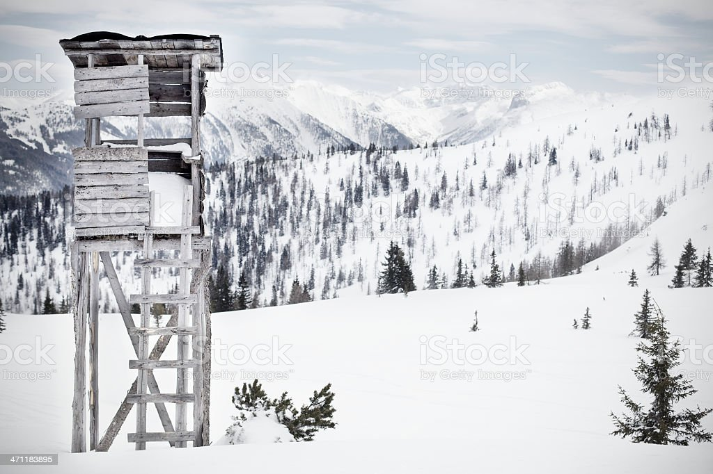 High Seat stock photo