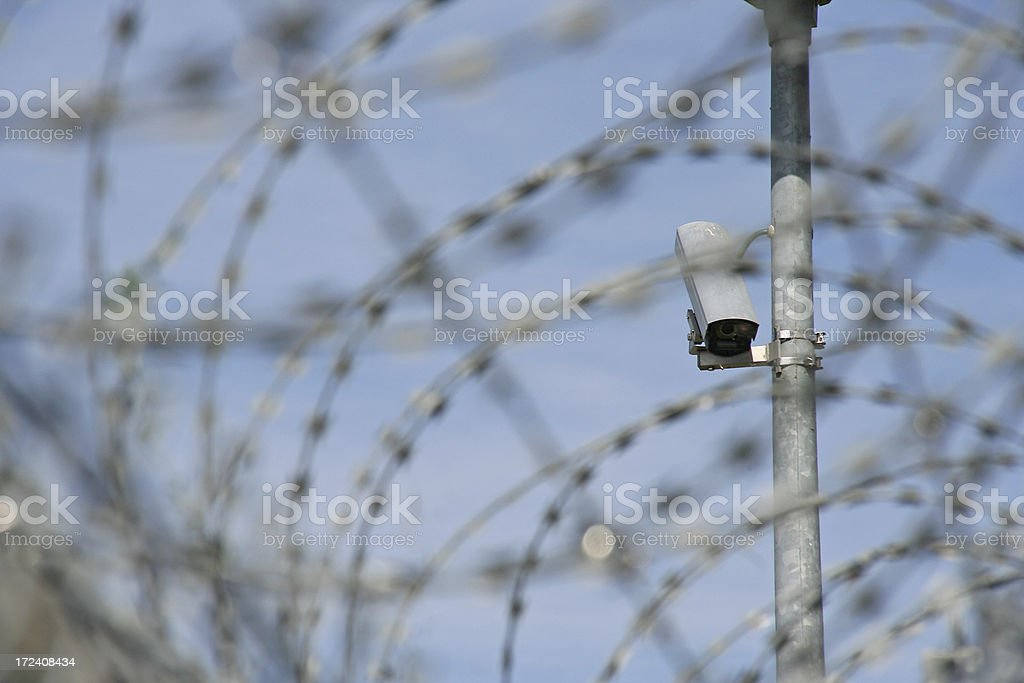 High Security royalty-free stock photo
