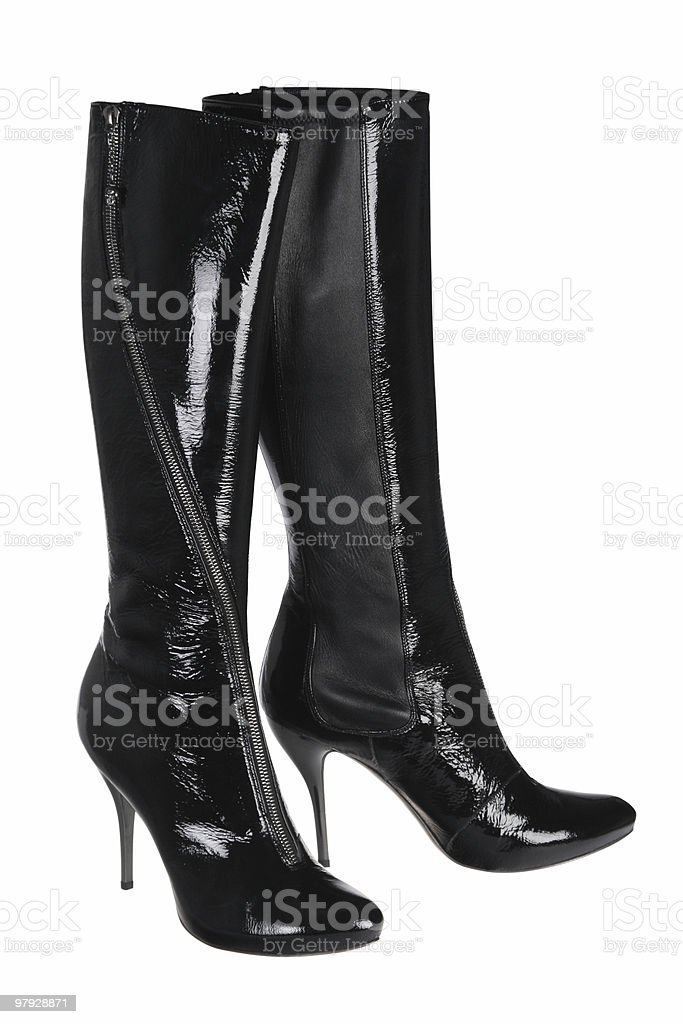 High shoes isolated royalty-free stock photo