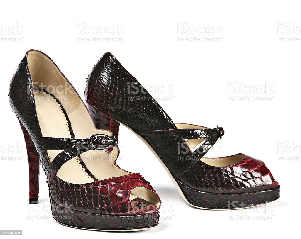 High shoes royalty-free stock photo