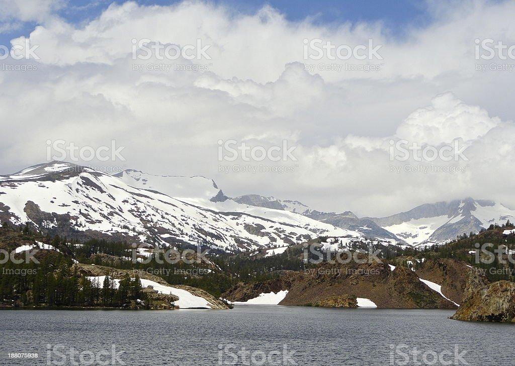 High Sierra Natural Mystic stock photo